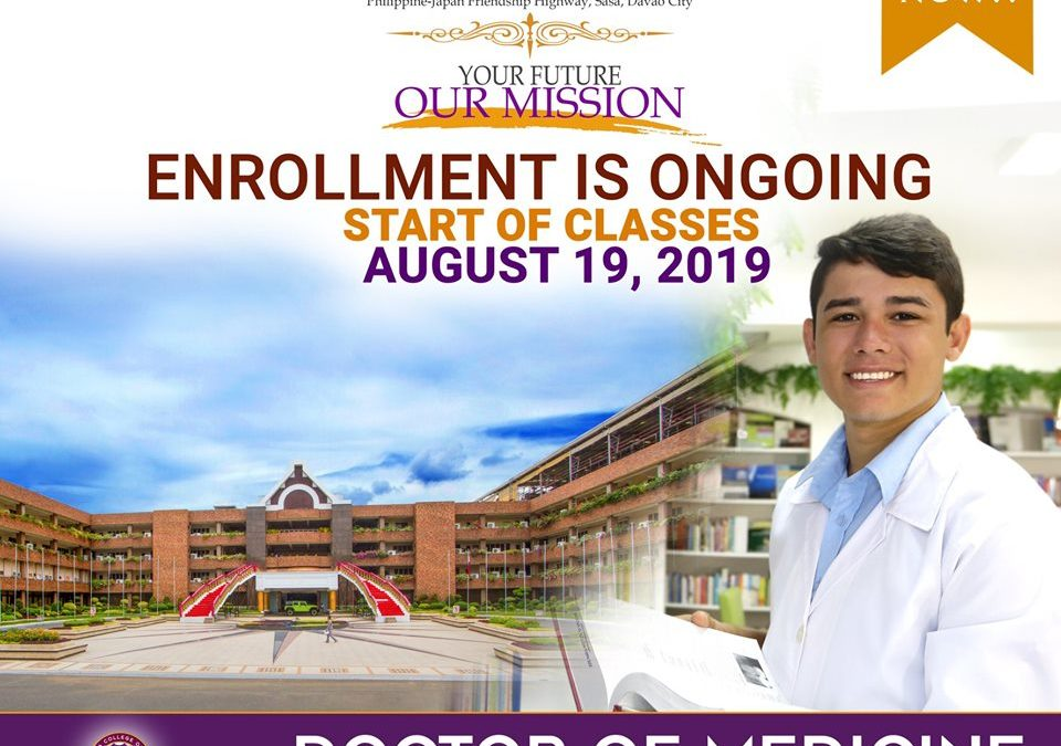 Now Accepts Enrollees for AY 2019-2020